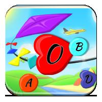 Tworzenie wyrazów z liter – Latawiec z wyrazami –