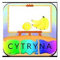 Dzielenie wyrazów na sylaby - Owocowe sylabowanie