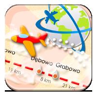 Odległości między miastami - W drogę przez Polskę