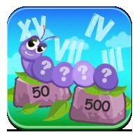 Liczby po rzymsku - Rzymskie gąsienice - Zdobywcy