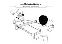 Malowanka Tenis stołowy
