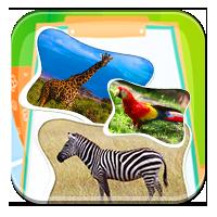 Nazwy zwierząt dla dzieci - Kto mieszka w Zoo? - Z