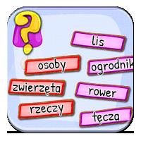 Rodzaje rzeczowników - Lis, tulipan i ogrodnik - Z