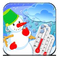 Słownictwo związane z temperaturą - Brrr, zimno! -