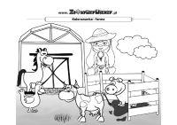 Malowanka dla dzieci FARMA
