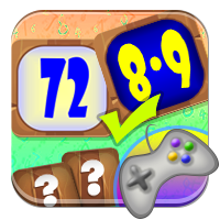 Nauka mnożenia gry - Ukryta tabliczka mnożenia - Z
