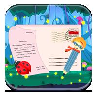 Nauka pisania listów dla dzieci - Odpowiedź pszczó