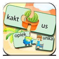 Pisownia u - Auu! Kaktus! - ZdobywcyWiedzy.pl