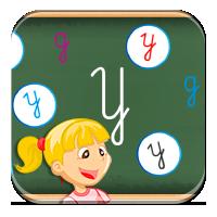 Nauka literek dla dzieci - Literkowa rozsypanka -