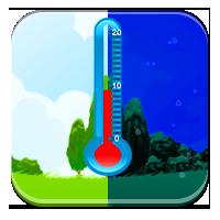 Termometr odczytywanie - Chłodniej niż dzień - Zdo