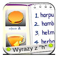 H w wyrazach - Herbata i herbatniki - ZdobywcyWied