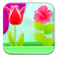 Ćwiczenia z przymiotnikiem - Zielony, wiosenny ogr
