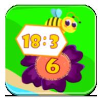 Dzielenie do 30 - Dzielę razem  z pszczołami - Zdo