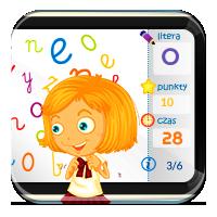 Ćwiczenia z literkami - Literki na czas - Zdobywcy