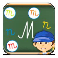 Poznawanie liter - Literkowa rozsypanka - Zdobywcy