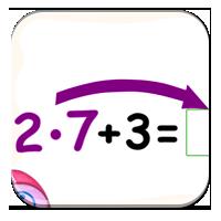 Kolejność wykonywania działań - Liczę po kolei - Z