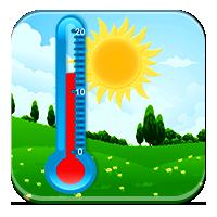Nauka temperatury dla dzieci - Temperatura o różny
