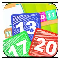 Nauka liczenia do 20 - Miś liczy klocki - Zdobywcy