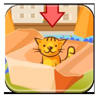 Ćwiczenia z przyimkami - Kocie przyimki - Zdobywcy