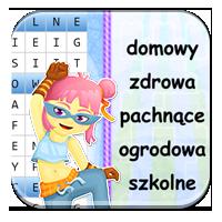 Nauka części mowy - Przymiotnikowa wykreślanka - Z