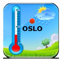 Czytanie temperatury - Temperatura w różnych miast