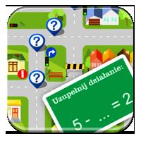 Zasady dodawania - Matematyczny plan miasta - 0-10