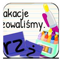Rz i ż - Nasze wakacje - ZdobywcyWiedzy.pl