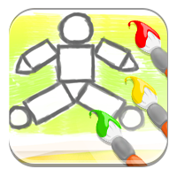 Figura geometryczna - Kolorowe trójkąty i prostoką