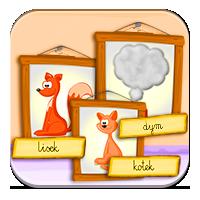 Czytanie dla dzieci - Podpisz ilustrację - Zdobywc