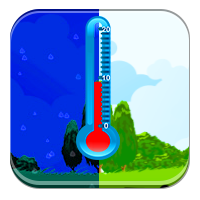 Odczytywanie termometru - Cieplej niż w nocy - Zdo