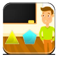 Figury geometryczne nazwy - Mam 4 boki! - Zdobywcy