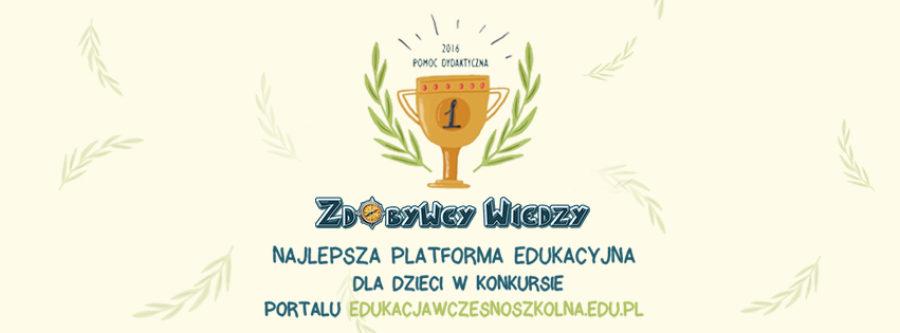 Najlepsza platforma edukacyjna - Zdobywcy Wiedzy