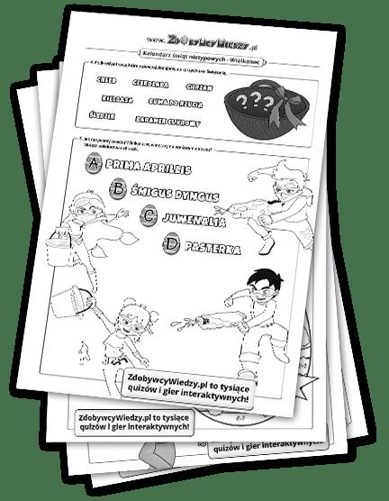 karty pracy dla dzieci