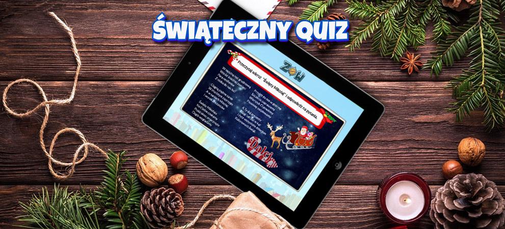 Świąteczny quiz dla dzieci Zdobywcy Wiedzy