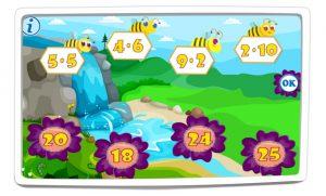 Tabliczka mnożenia w zakresie 30 - Liczenie z pszczołami