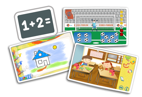 Nauka cyfr dla przedszkolaka