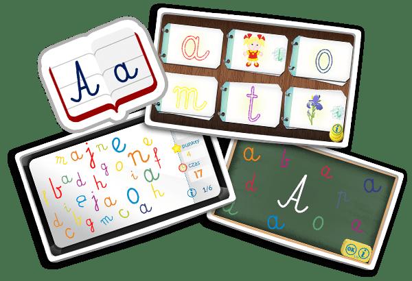 Nauka liter dla przedszkolaka