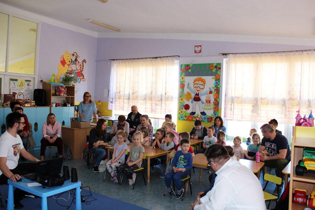 Warsztaty dla przedszkolaków w przedszkolu nr 2 im. Janusza Korczaka w Parczewie