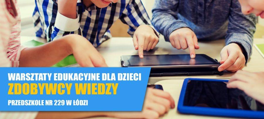 Warsztaty dla dzieci w Łodzi